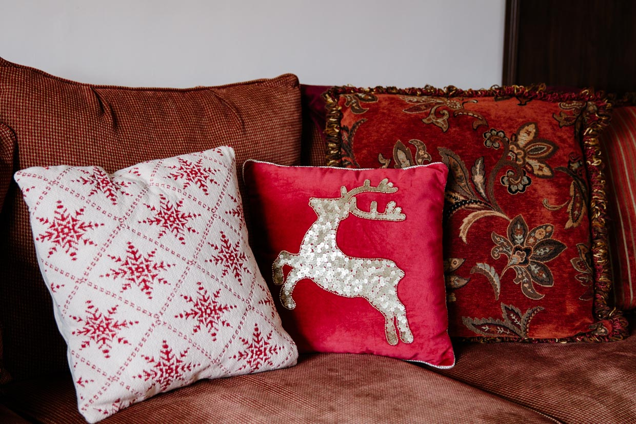 christmas pillows from pier 1 imports