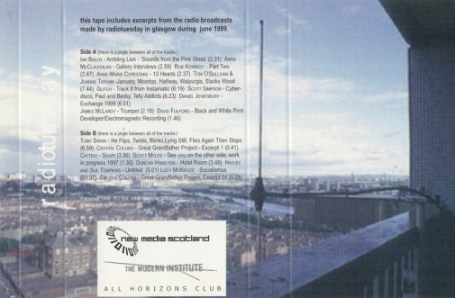 Wide General Vicinity tape artwork