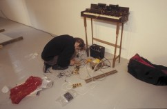 Paul Mulverhill's homemade image to sound converter - e.g sometime instant, Transmission Gallery, 2000