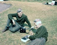 Doug & Ernie Flecknoe, Aug 61