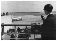 London airport recording trip 1966