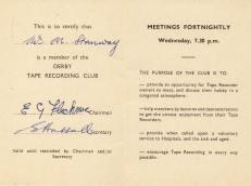 DTRC Membership Card 3