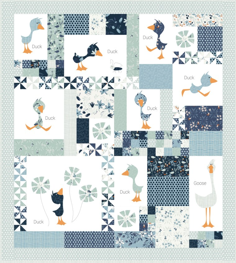 duck duck goose block of the month by meags and me