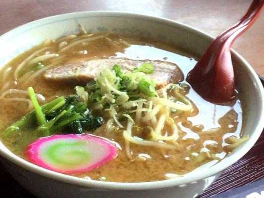 平成29年 豊浦町 ドライズインいずみ 味噌ラーメン