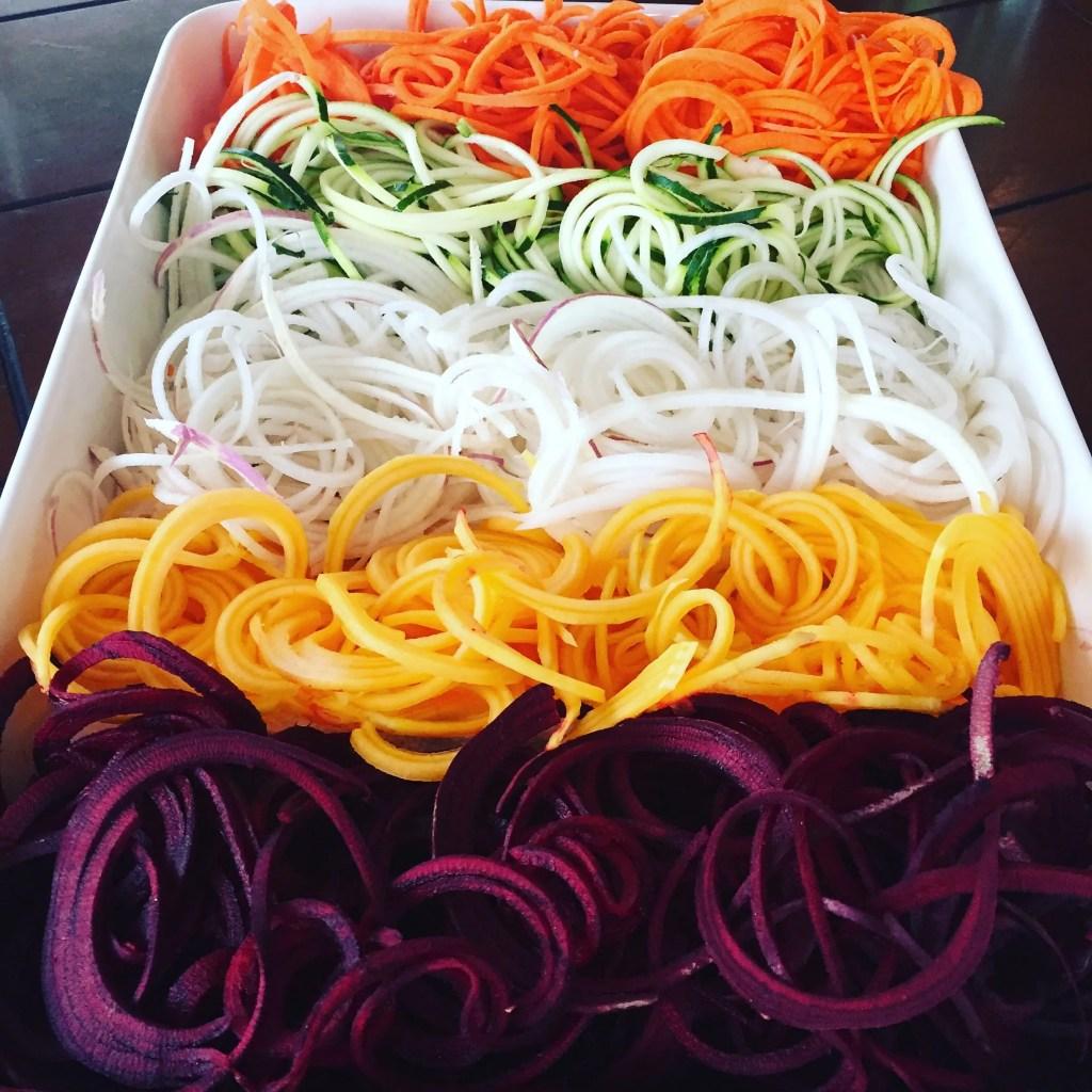 Spiralized Noodles