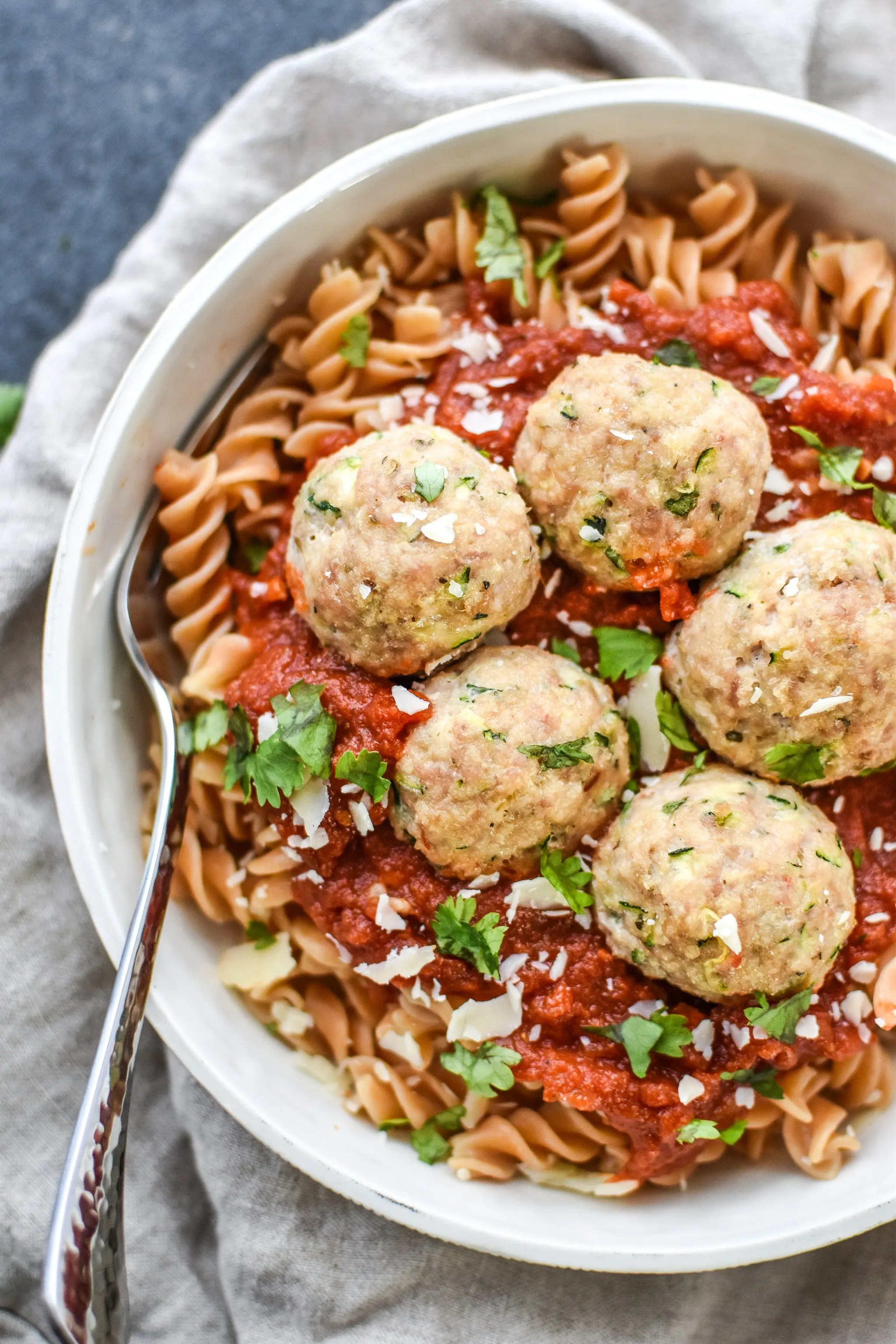 Sneaky Italian Turkey Meatballs