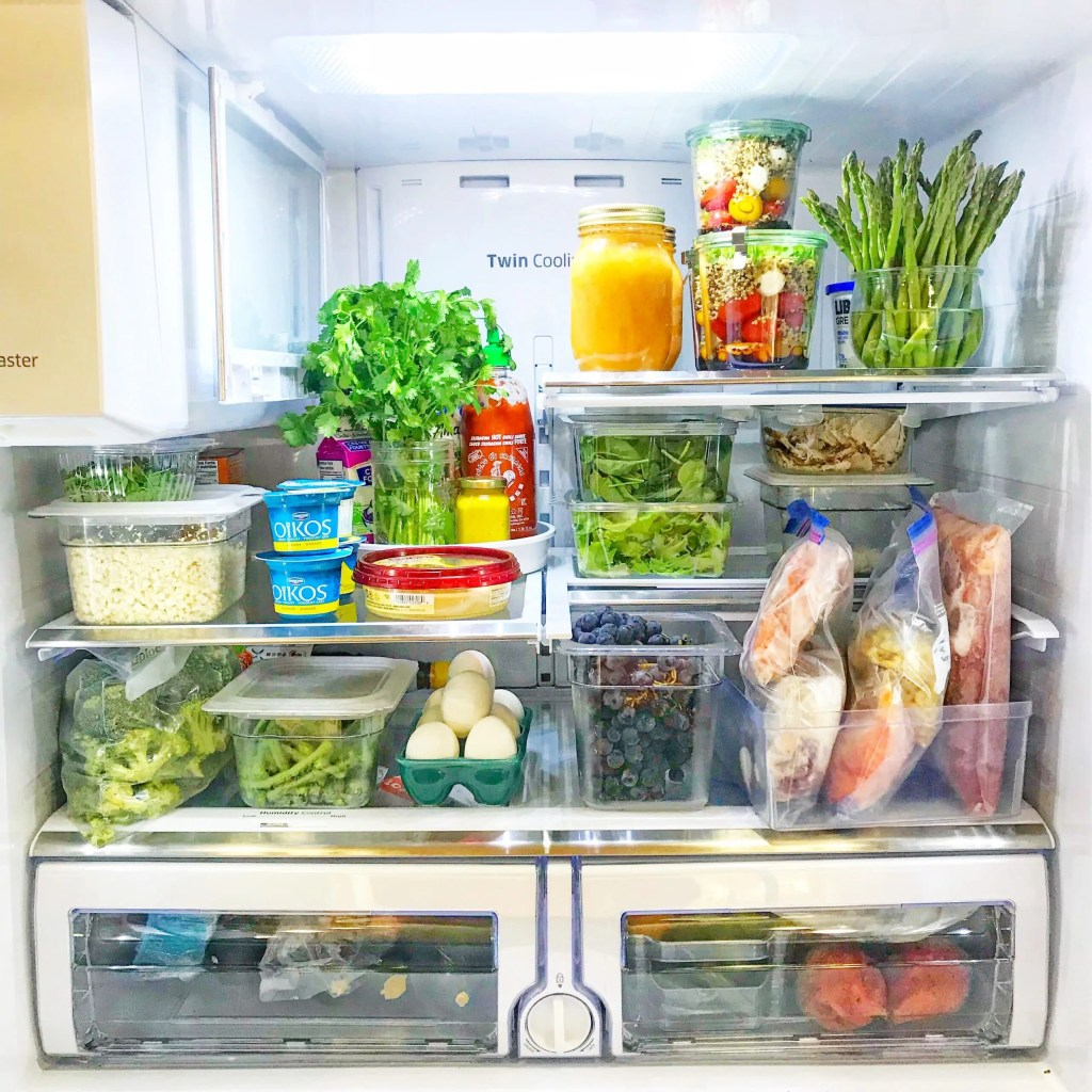 5 places to find inspiration for your weekly meal plan_fridge
