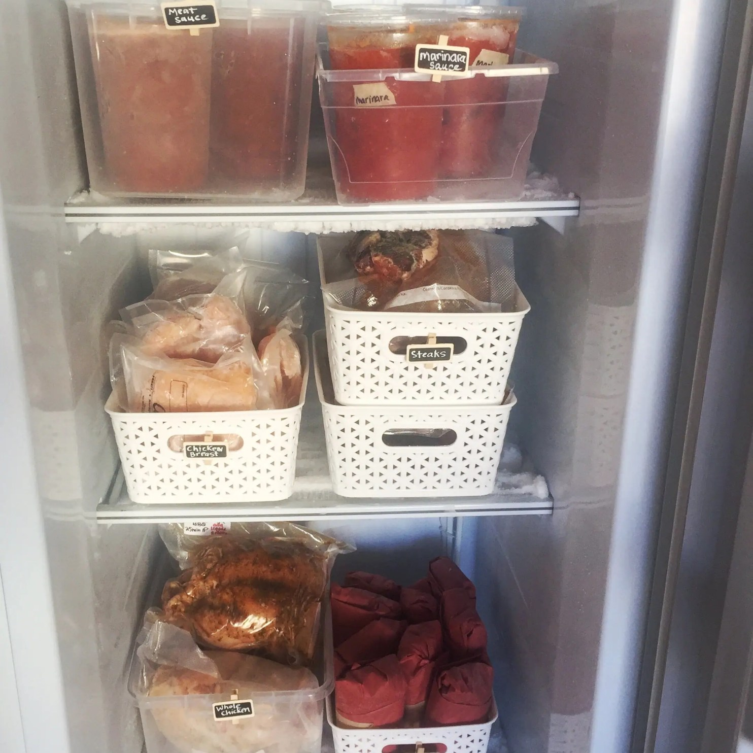 7 Tips for Freezer Organization to save money and reduce food waste