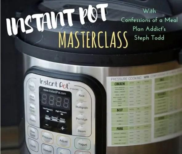 Instant Pot Masterclass