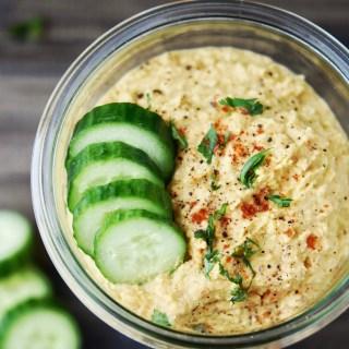 Thai'd Up Hummus {Prep Ahead}