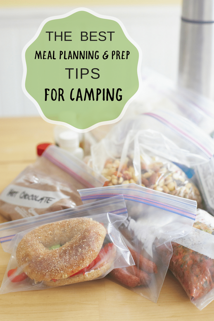 The best meal planning and prep tips for Camping