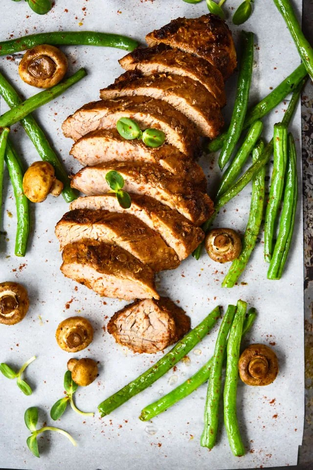 Freezer Friendly Moroccan Style Pork TeFreezer Friendly Moroccan Style Pork Tenderloin {Oven or Air Fryer}
