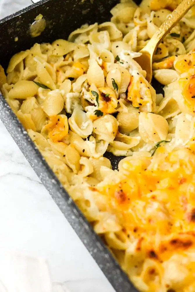 Healthier 3 Cheese Baked Shells-5