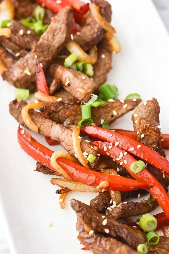 Air Fryer Asian Beef & Veggies-4
