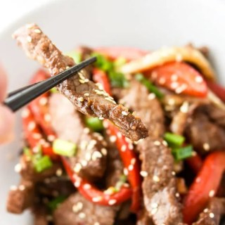 Air Fryer Asian Beef & Veggies-7