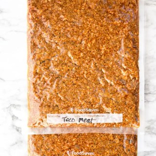 Batch Prep Taco Meat - freezer pack