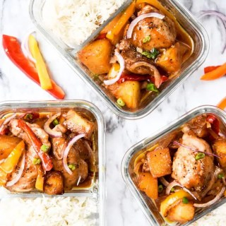 Hawaiian Chicken Meal Prep-4