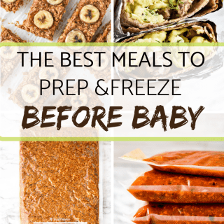 The Best Meals to Prep and Freeze before Baby
