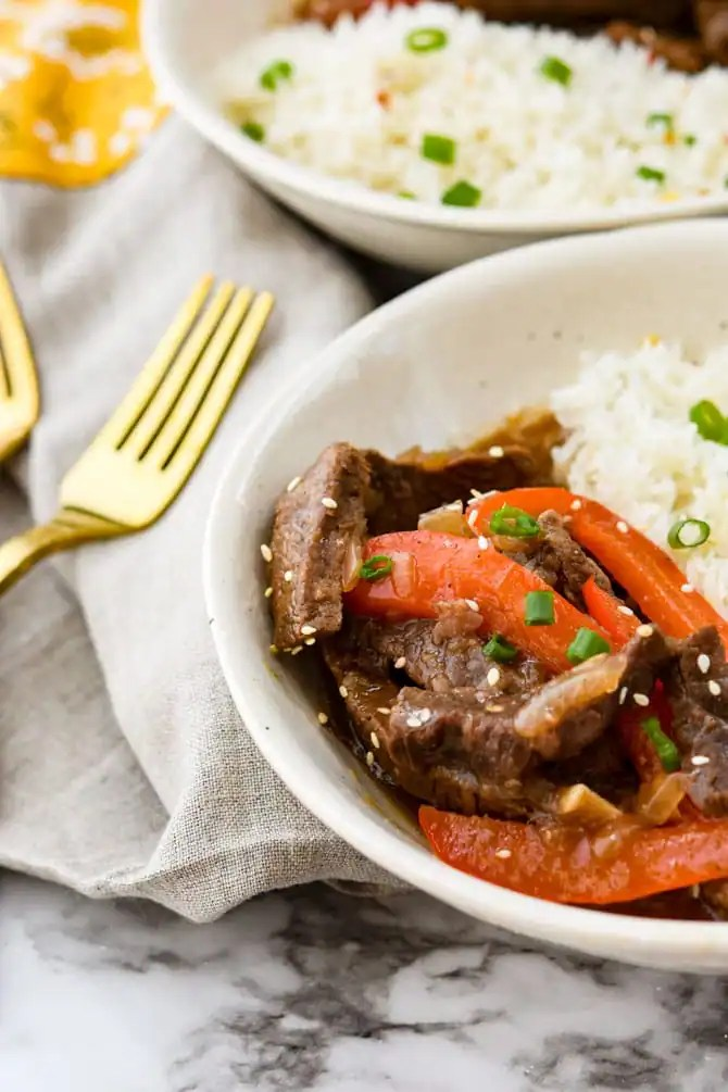 Instant Pot Ginger Beef Stir Fry-2