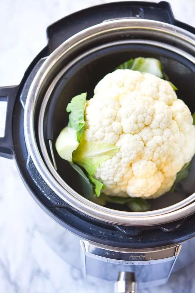 Instant Pot Whole Cauliflower