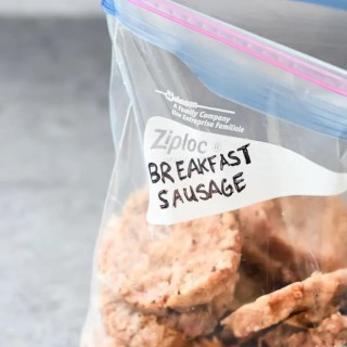 Maple Sriracha Breakfast Sausages frozen