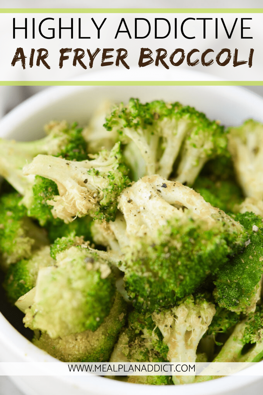 Highly Addictive Air Fryer Broccoli