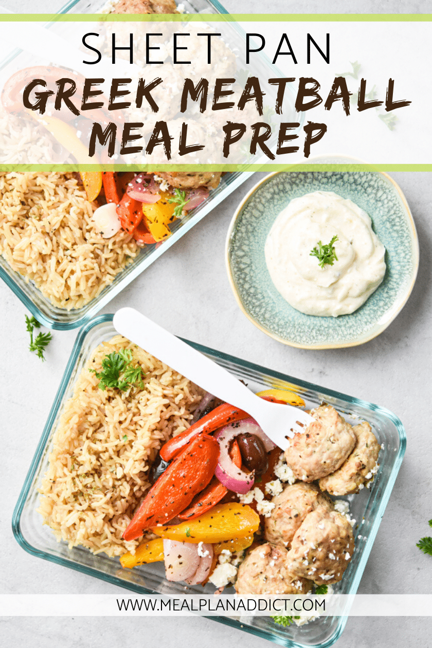 Sheet Pan Greek Meatball Meal Prep (2)