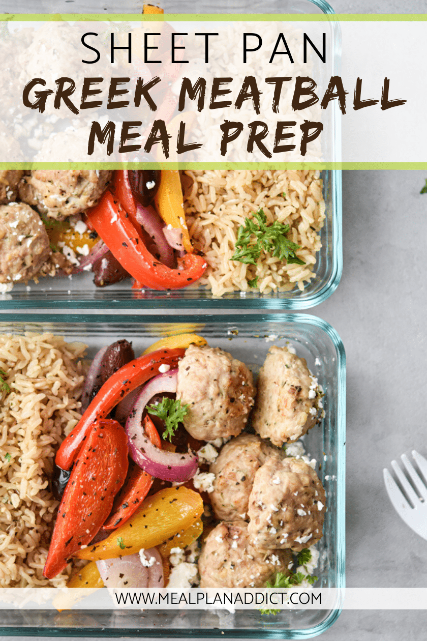 Sheet Pan Greek Meatball Meal Prep (4)