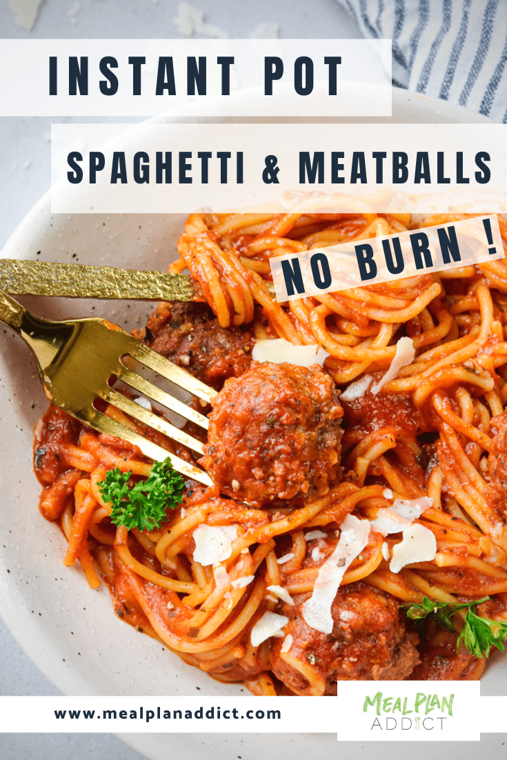 Instant pot spaghetti and meatballs (5)