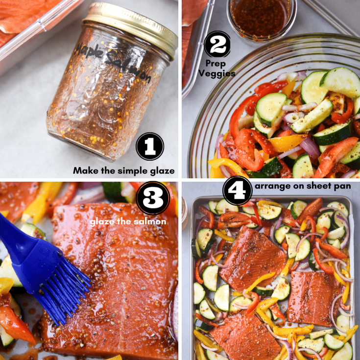process to make maple salmon