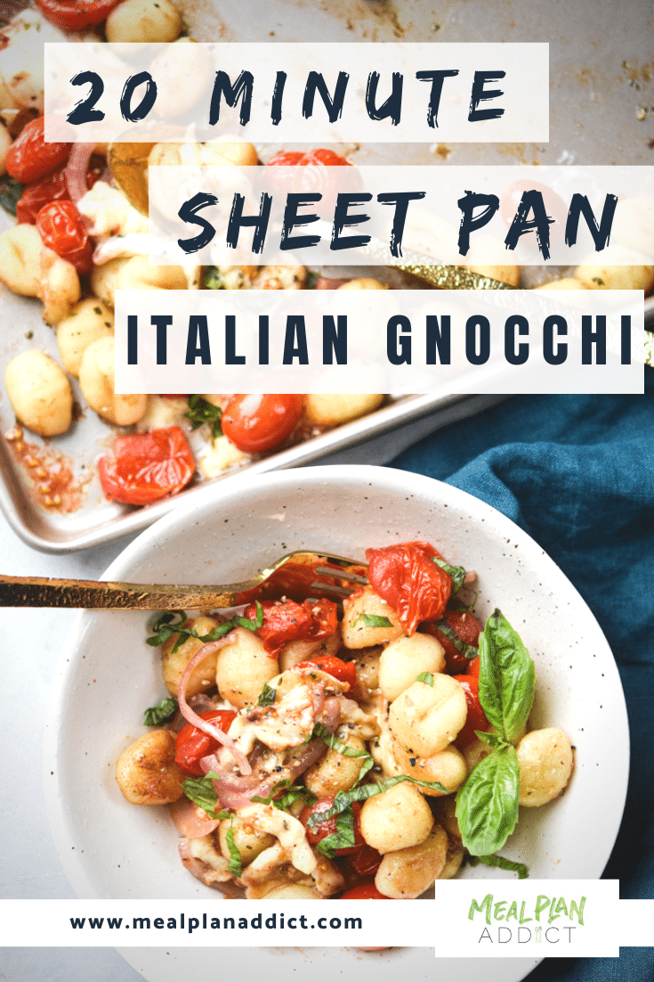 Sheet Pan Italian Gnocchi pin