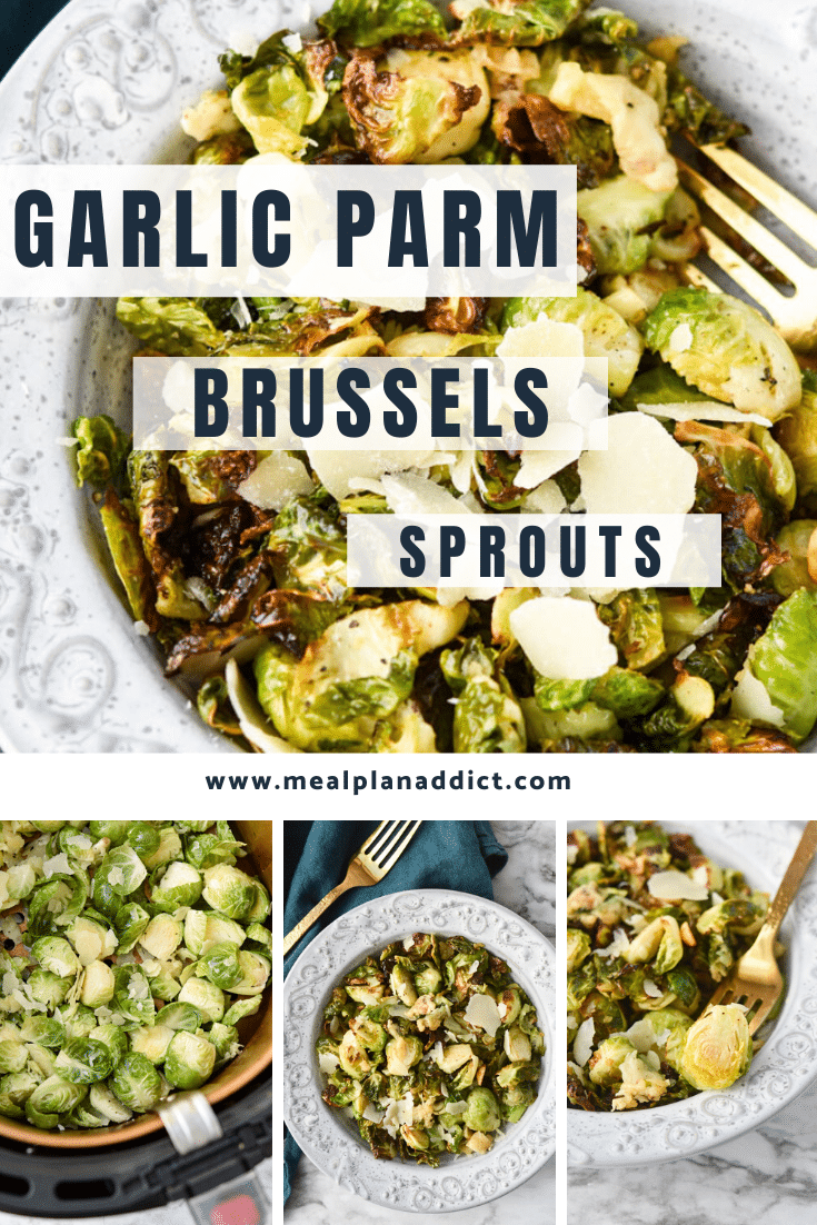 Garlic Parm Brussels Sprouts