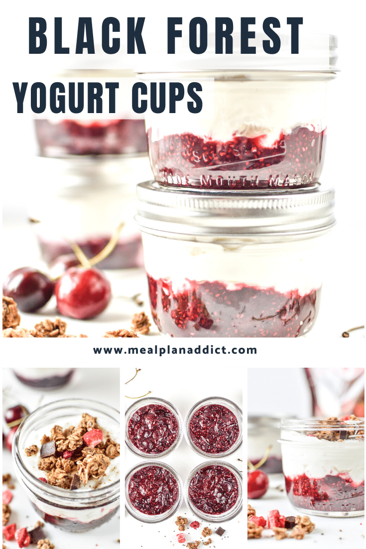 Black Forest Yogurt Cups