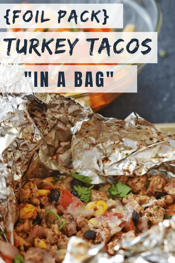 "Freezer Friendly Turkey Tacos ""In a Bag"""
