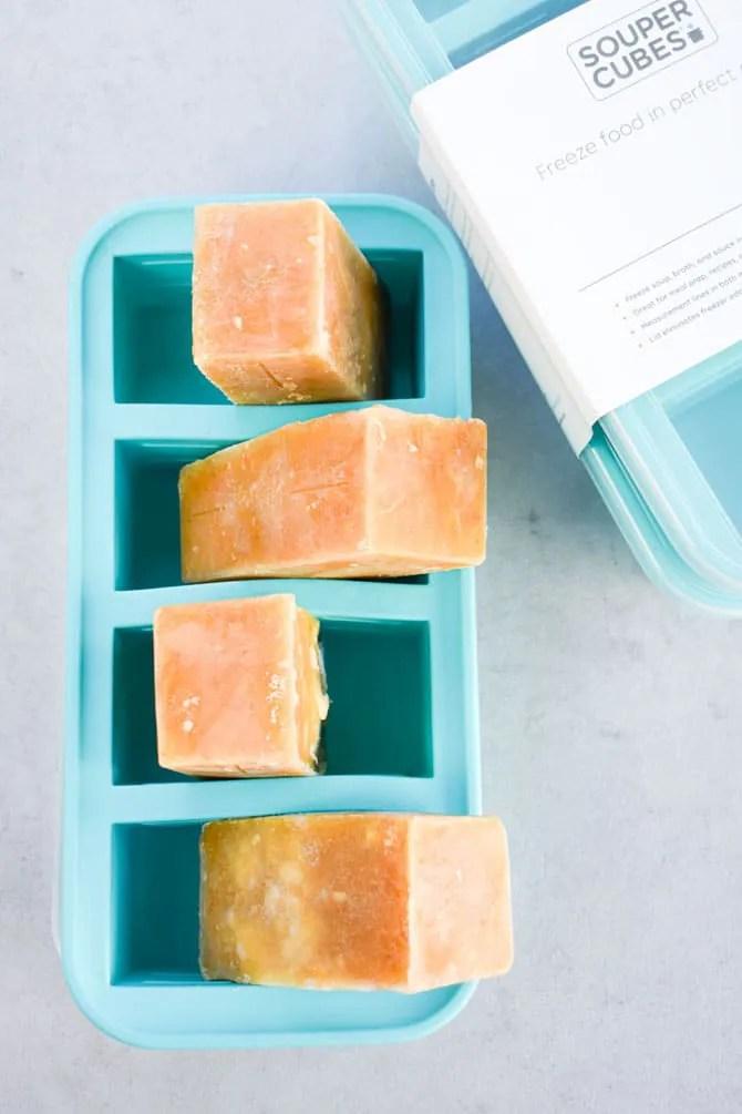Soup in Souper Cubes