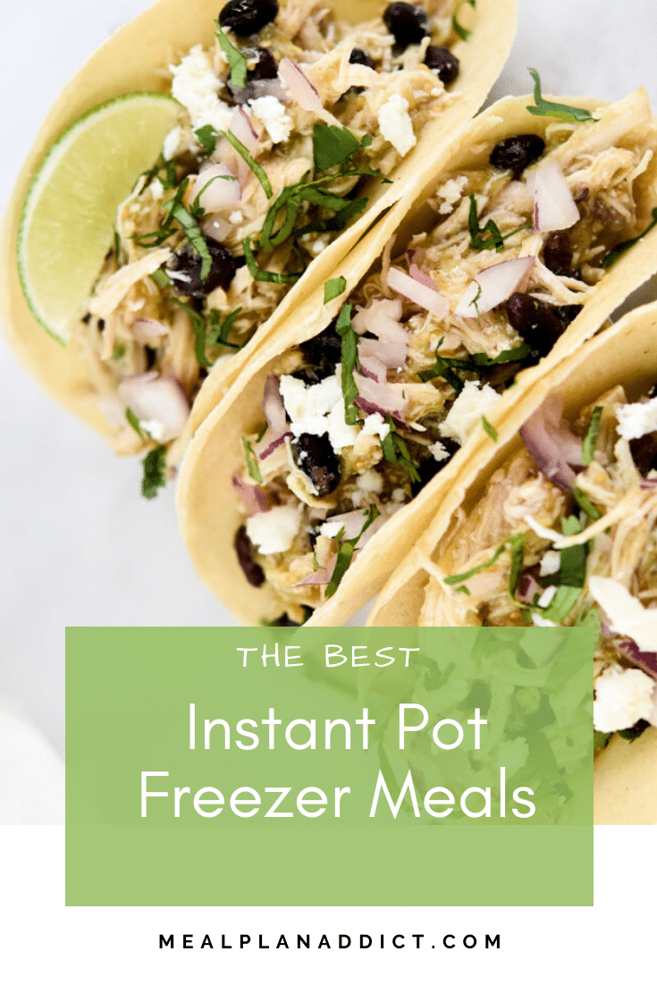 The Best Instant Pot Freezer Meals