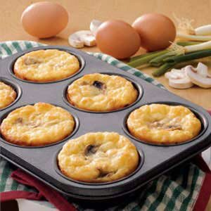 Cheesy Egg Puffs Recipe