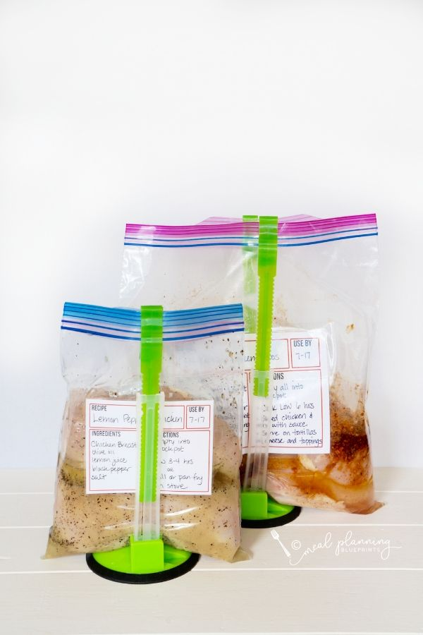 How to make freezer meals in a snap with these 4 simple steps