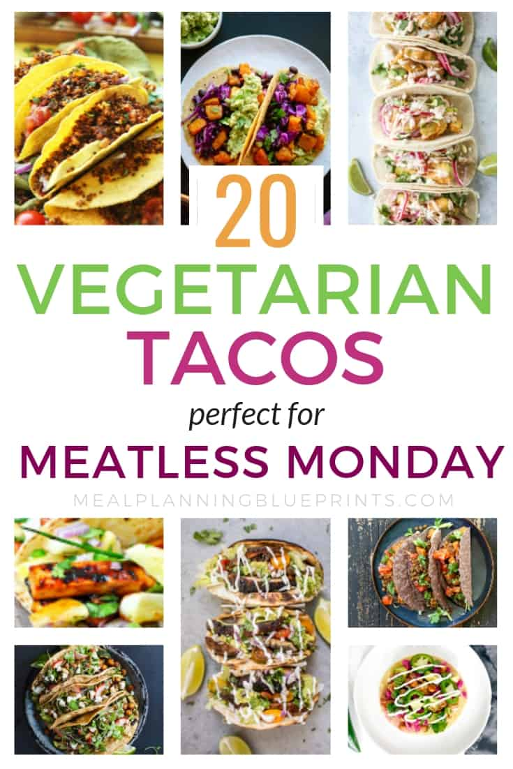 Vegetarian taco recipes so good your meat eaters will love them!