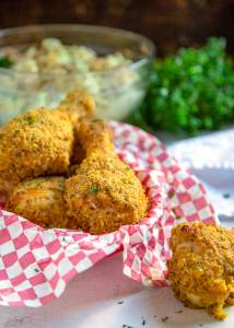 Oven fried chicken recipe for those that miss their KFC takeout using these copy cat restaurant recipes. Save money plus help your family adapt more easily to a meal plan with these 20 restaurant favourite recipes.