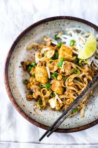 Easy pad thai recipe for those that miss their takeout using these copy cat restaurant recipes. Save money plus help your family adapt more easily to a meal plan with these 20 restaurant favourite recipes.