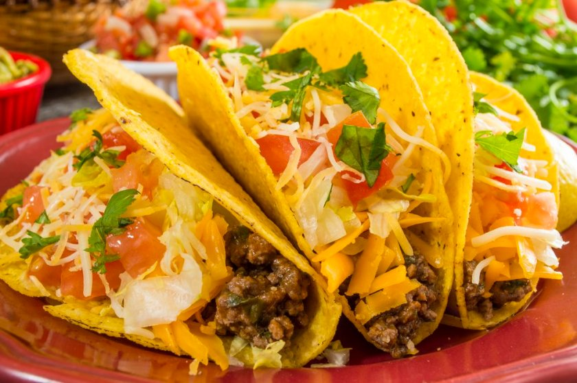 Tacos are great for eat with your hands night which is part of this done for you meal planning template. Use it to plan your meals for the week.