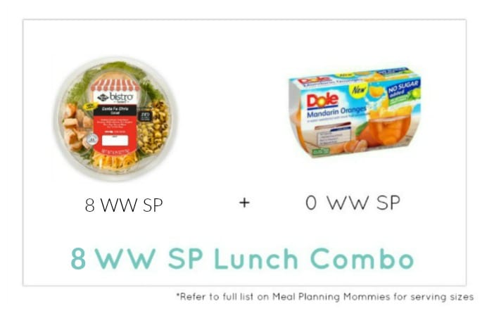 Smart Lunches with Low Weight Watcher Freestyle Smart Points - Meal