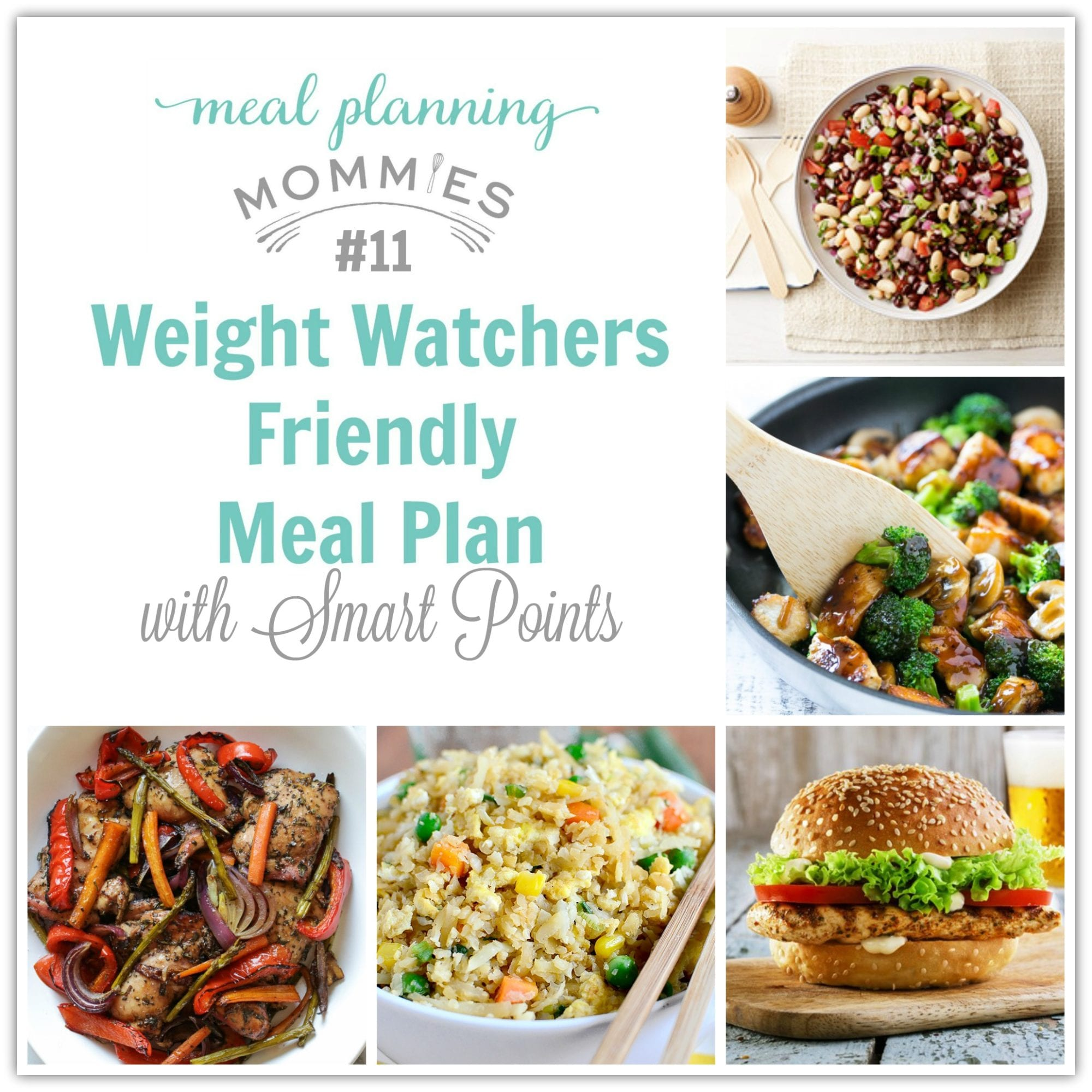 Weight Watcher Meal Plan With Smart Points 11 With Old
