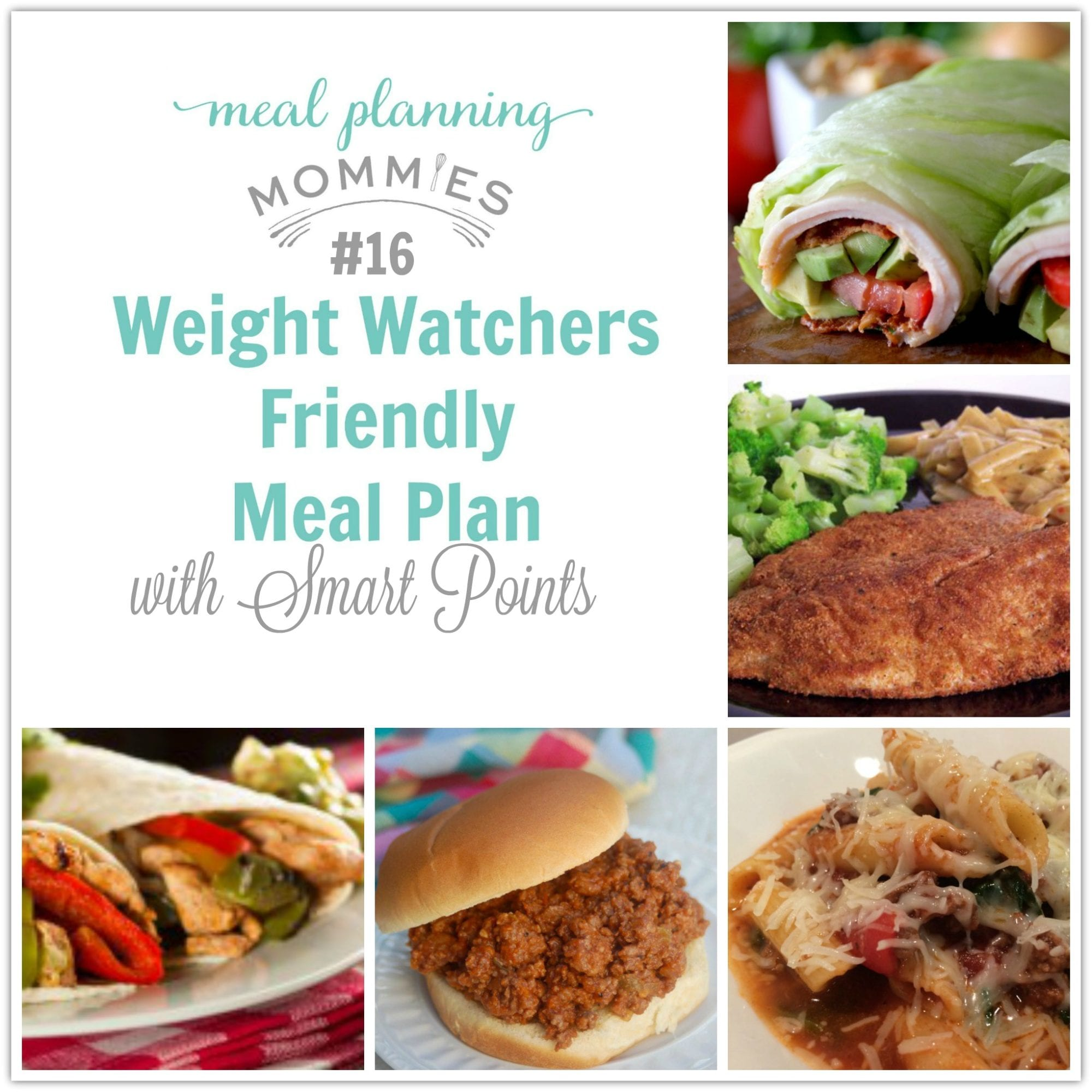 Weight Watcher Meal Plan With Smart Points 16