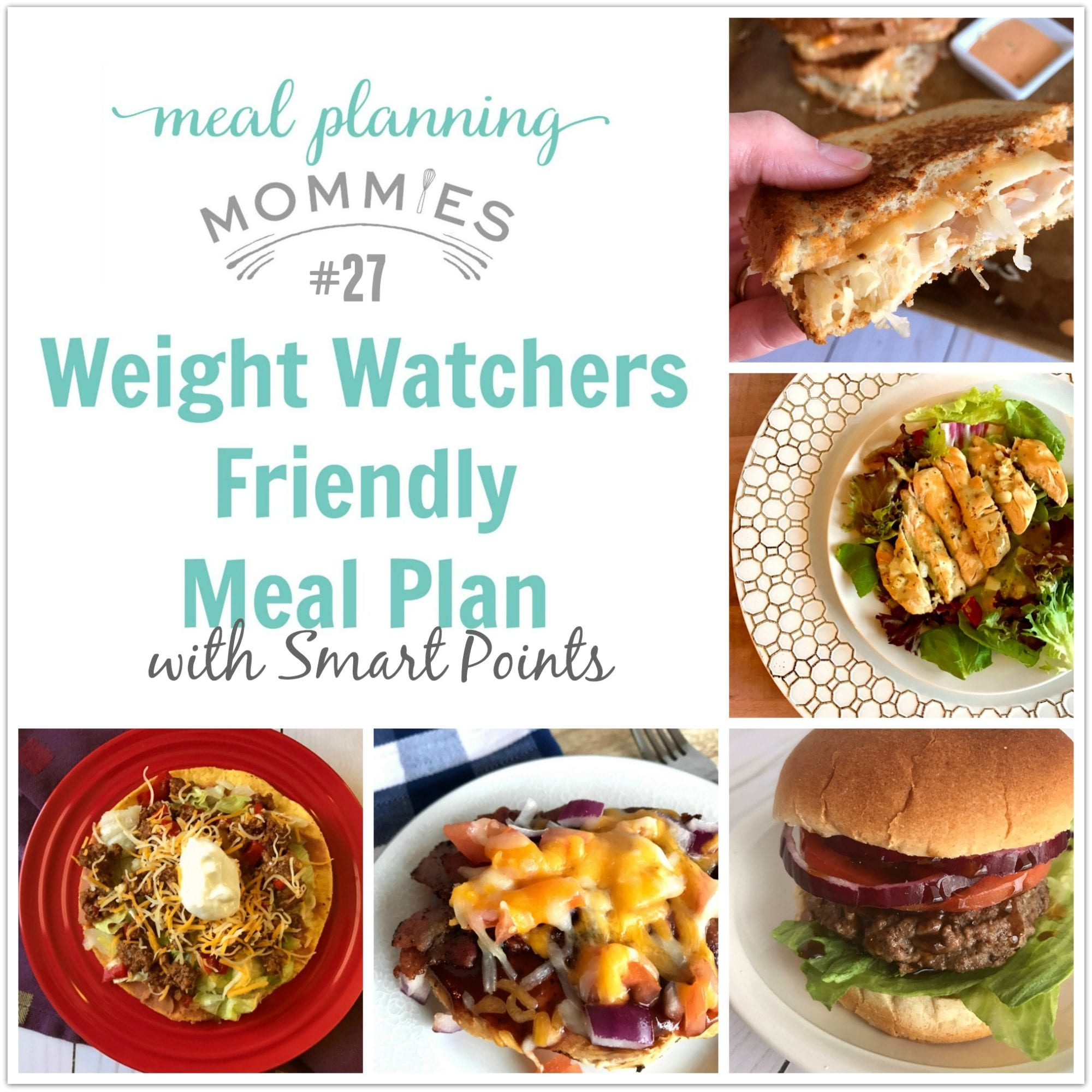 Weight Watchers Friendly Meal Plan 27 With Freestyle