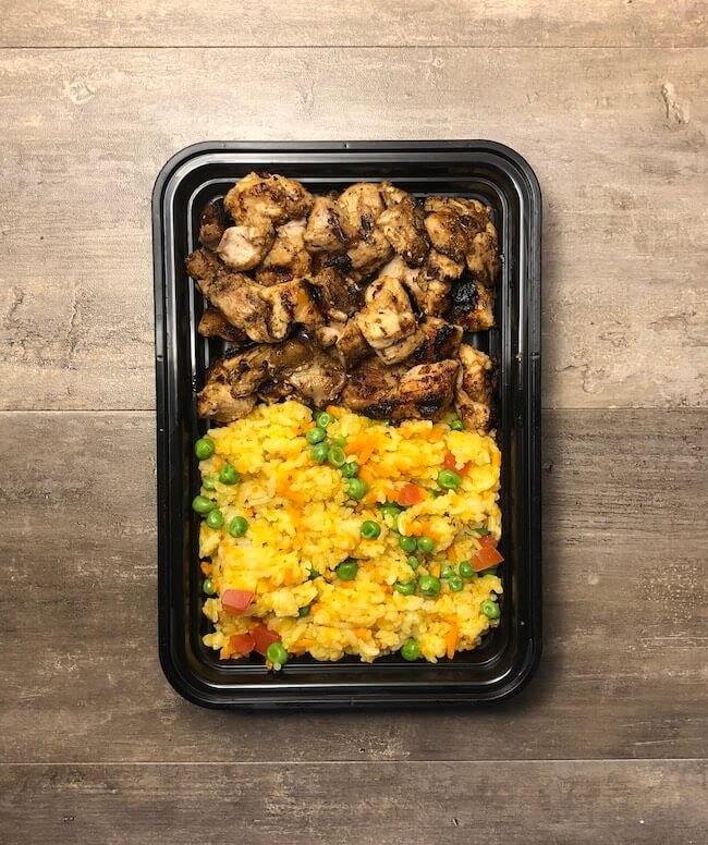 Middle Eastern Chicken with Turmeric Rice