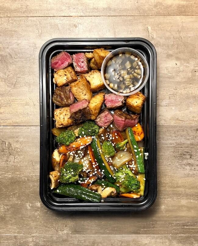 Read more about the article Teppanyaki Steak, Chicken & Vegetables