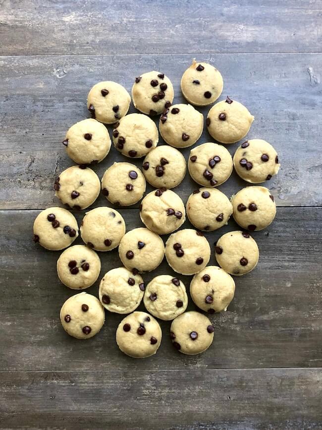 Lil Chocolate Chip Pancake Bites