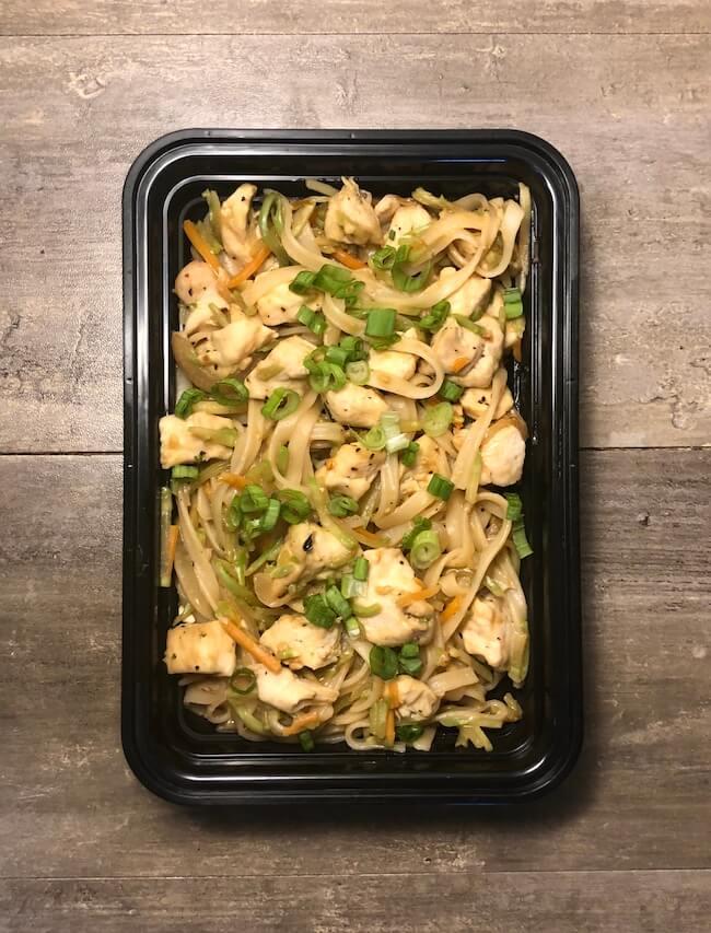 Peanut Chicken Noodles